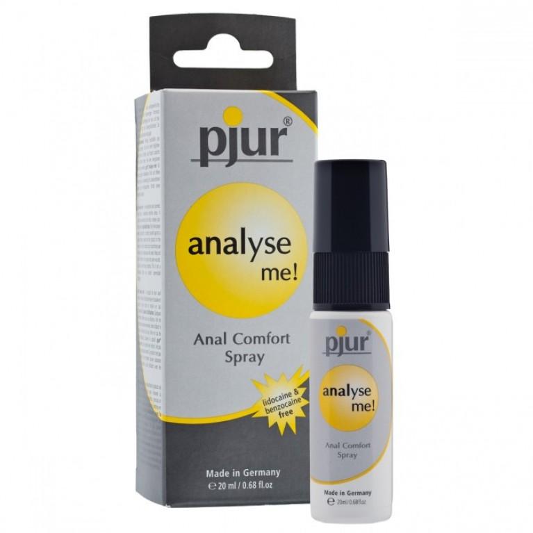 Обезболивающий анальный спрей pjur® analyse me! spray 20 ml