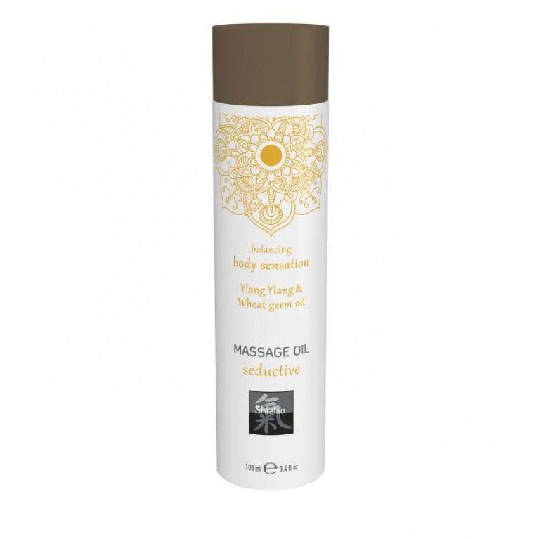 Massage oil seductive - Ylang Ylang & Wheat germ oil/Массажное масло seductive - Иланг иланг & масло зародышей пшеницы 100 мл.