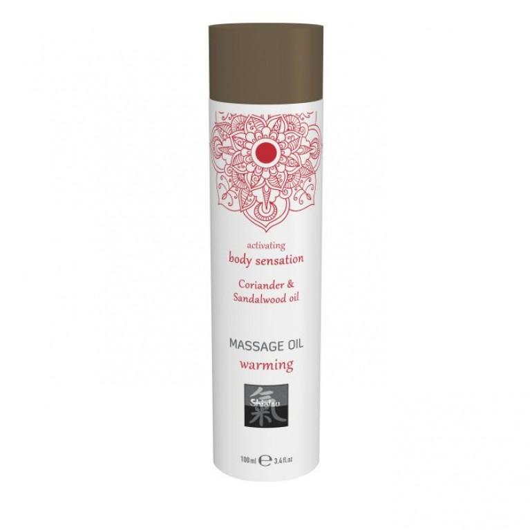 Massage oil warming - Coriander & Sandalwood oil/Массажное масло warming - Кориандр & масло сандала 100 мл.