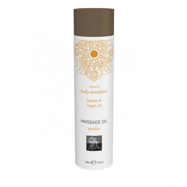 Massage oil erotic - Jasmin & Argan oil/Массажное масло erotic - Жасмин & аргановое масло 100 мл,