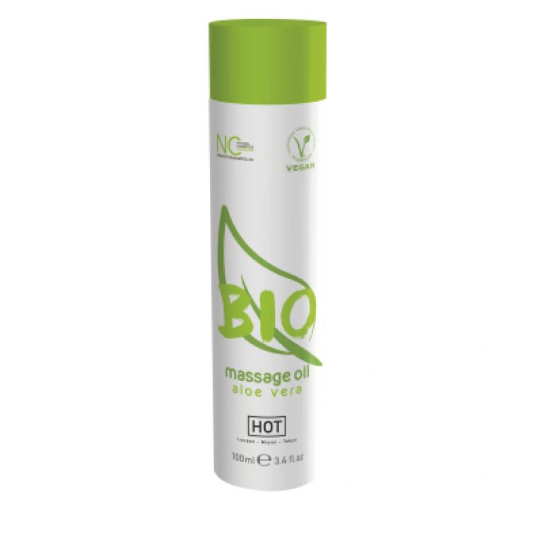 Массажное масло HOT BIO Massage oil aloe vera 100 мл. 44152