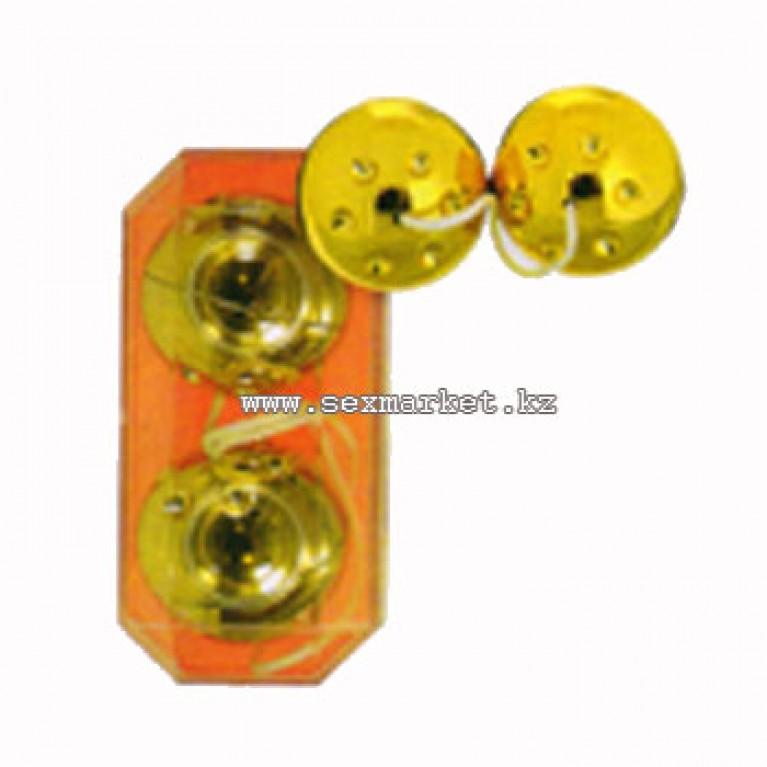 Вагинальные шарики золотые