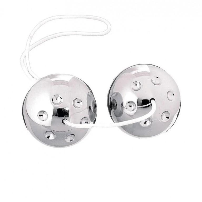 Вагинальные шарики серебренные