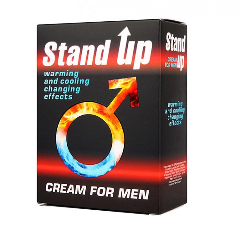 """КРЕМ """"STAND UP"""" для мужчин возбуждающий 25 г"""