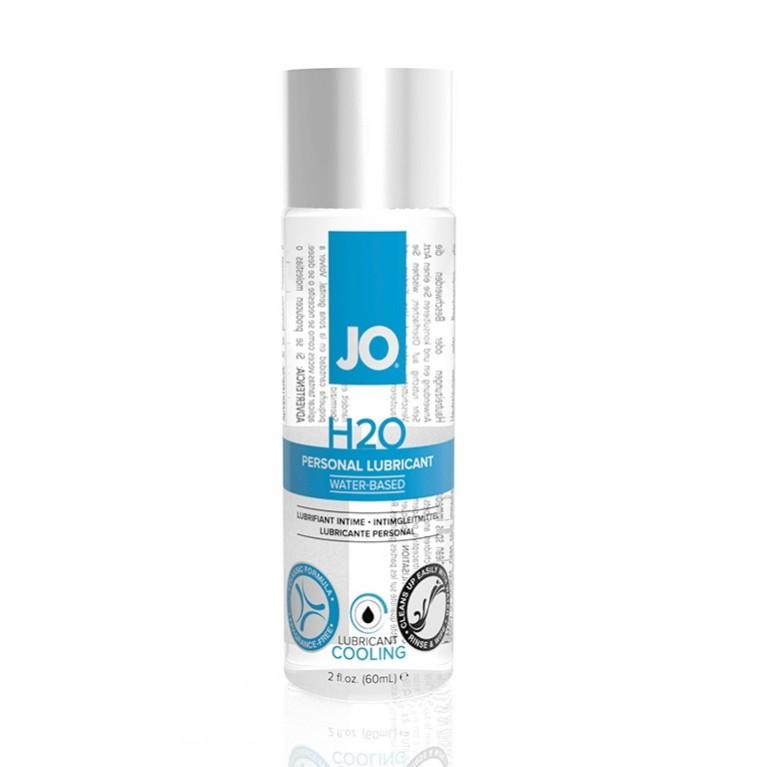 Классический охлаждающий лубрикант на водной основе JO H2O COOL(60мл.)