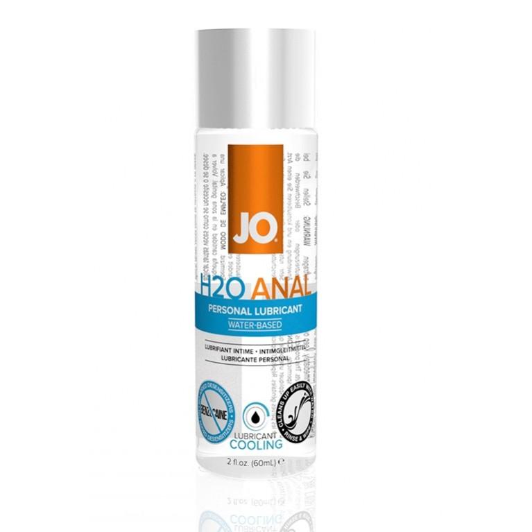 Анальный охлаждающий лубрикант на водной основе JO ANAL H2O COOL(60мл.)