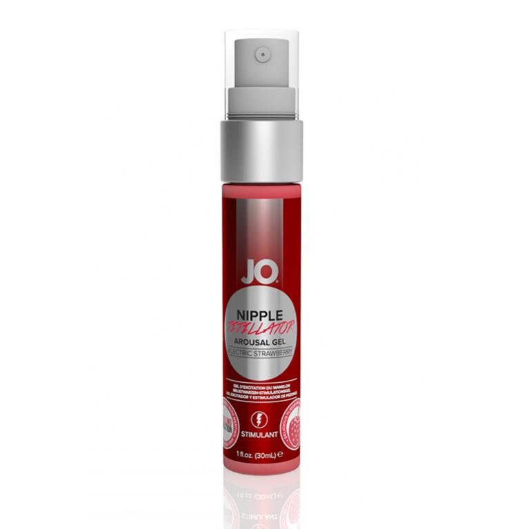 Ароматный стимулирующий гель для сосков / Nipple Titillator Electric Strawberry - 30 мл.