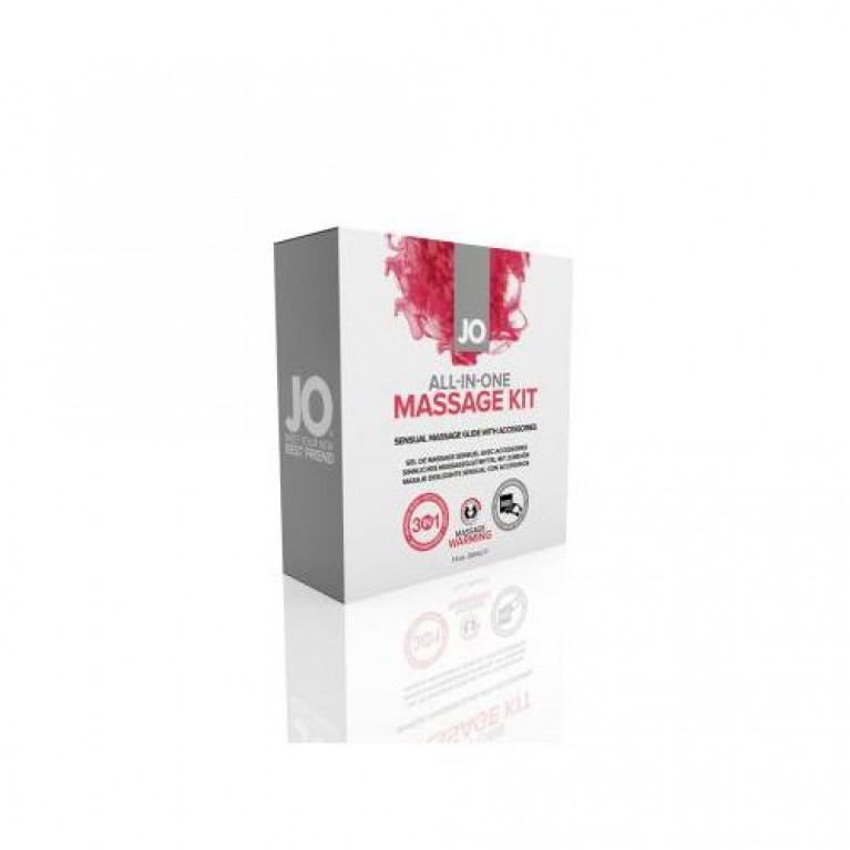Подарочный набор для массажа System JO All in One Massage Kit