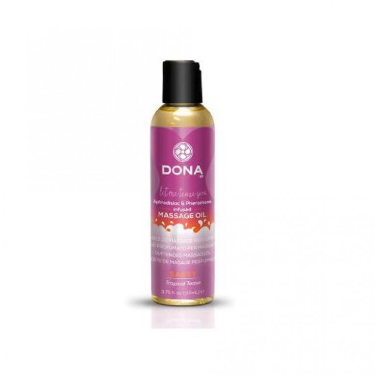 """Массажное масло с феромонами и афродизиаками """"Страсть"""" / Scented Massage Oil Sassy Aroma - 110 мл."""