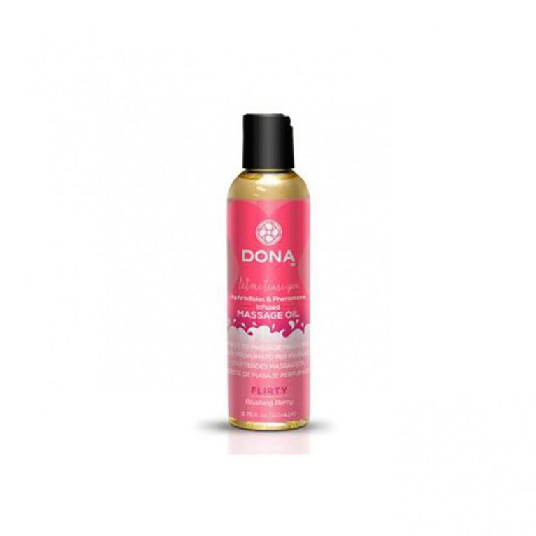 "Массажное масло с феромонами и афродизиаками ""Флирт"" / Scented Massage Oil Flirty Aroma - 110 мл."
