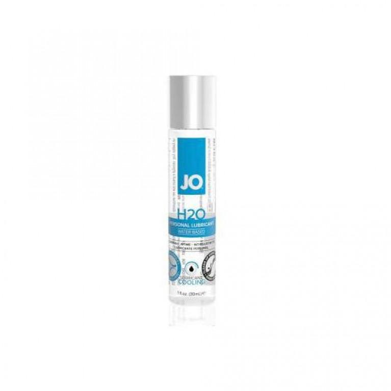 Классический охлаждающий лубрикант на водной основе / JO H2O Cooling 1oz - 30 мл.