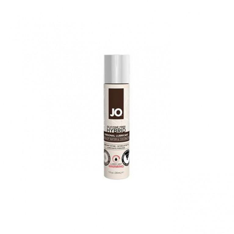 Водно-кокосовый лубрикант с согревающим эффектом / JO Lubric Coco-Hybrid Warming 1oz - 30 мл.