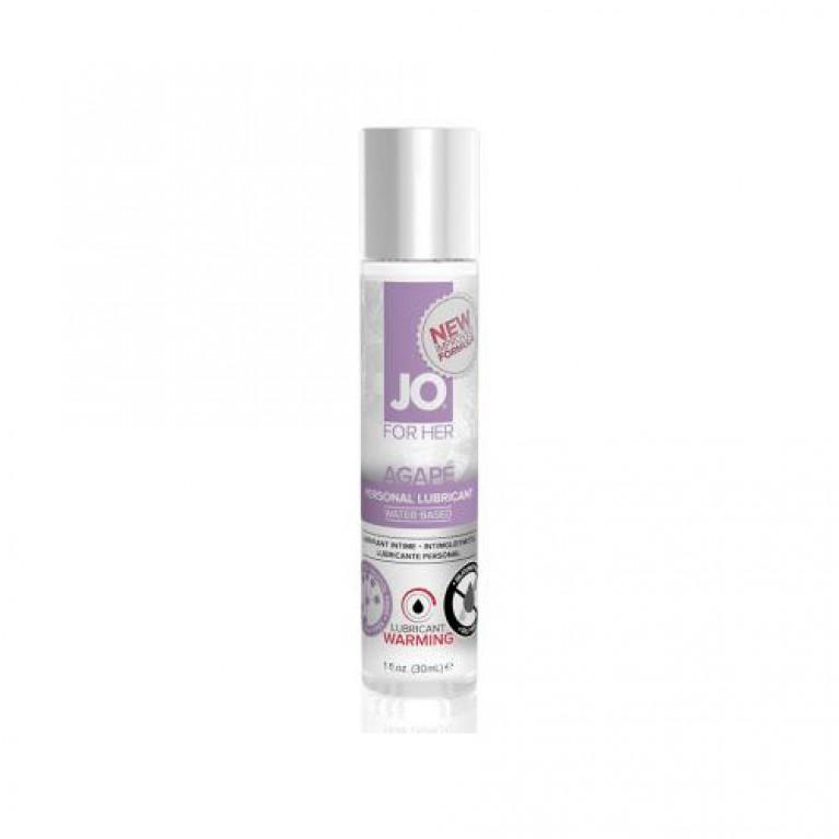 Возбуждающий легкий гипоаллергенный лубрикант / JO Agape Warming 1 oz - 30 мл.