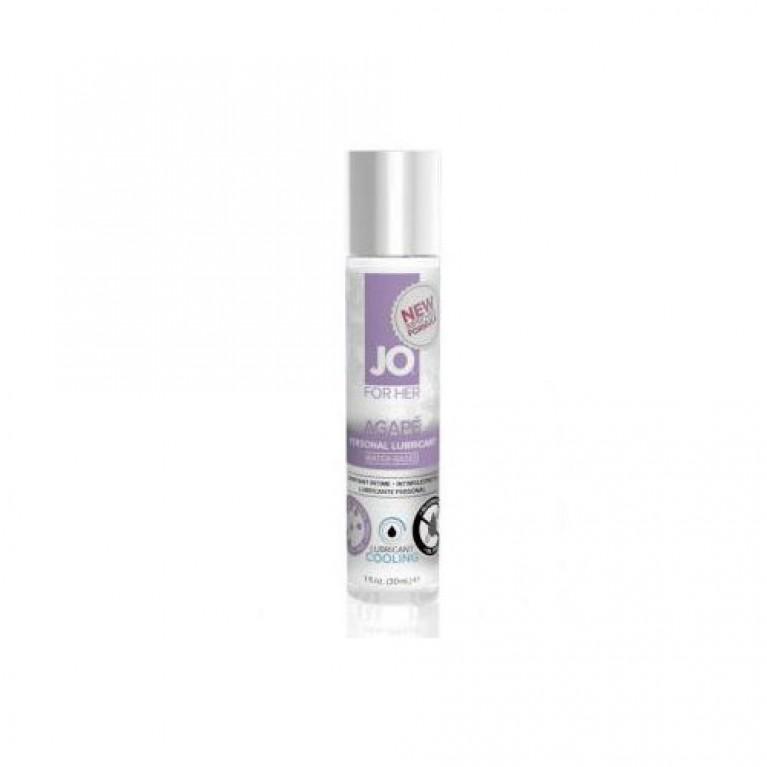 Охлаждающий легкий гипоаллергенный лубрикант / JO Agape Cooling 1 oz - 30 мл.