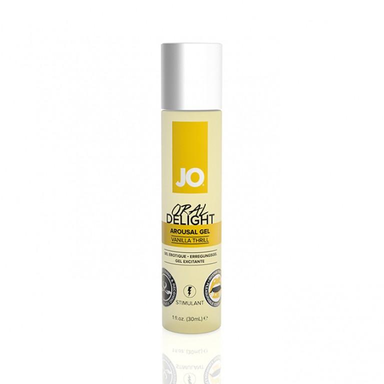 Стимулирующий гель для оральных ласк с десенсибилизацией Oral Delight - Vanilla