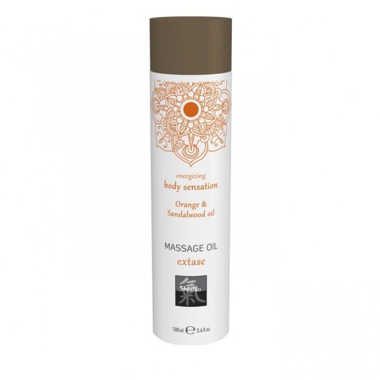 Massage oil extase - Orange & Sandalwood oil/ Массажное масло extase - Апельсин & масло сандала 100 мл.